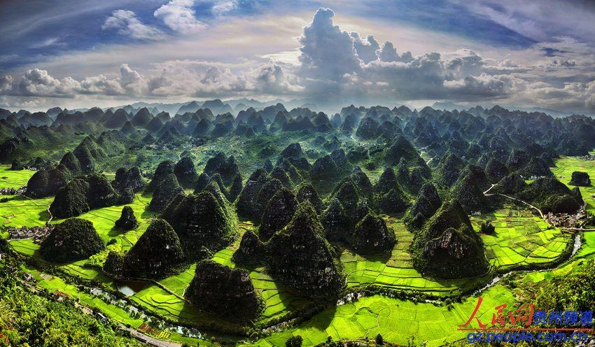 黔西南州自然风光美如画 组图图片