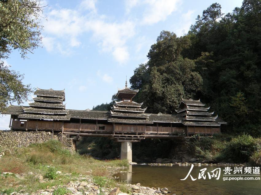 """美哉 中国侗族""""风雨桥""""(组图)--贵州频道--人民网"""