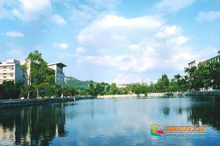 贵州大学校园风光 组图图片