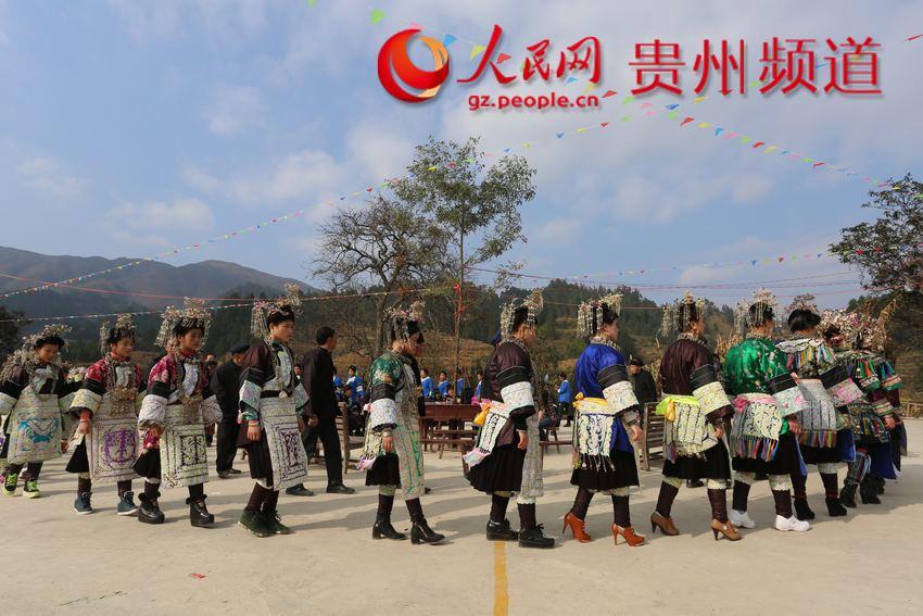 2月2日,榕江县乐里镇上寨村春节踩歌堂活动现场.杨成利摄-贵州侗图片