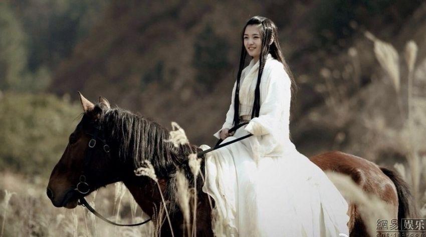小龙女骑马剧照