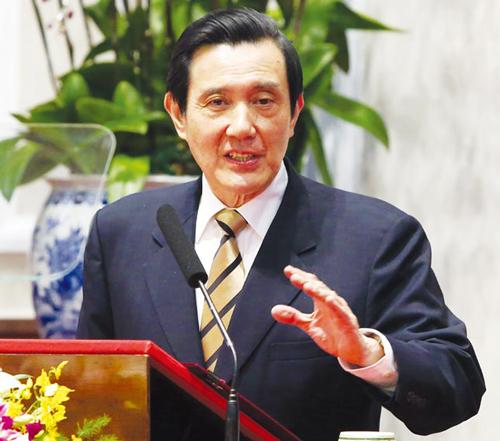 马英九:服贸协议关乎台湾经济未来