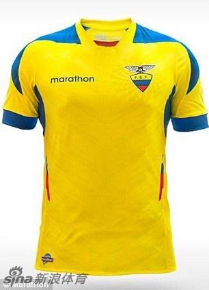 2014巴西世界杯球衣汇总[高清组图]