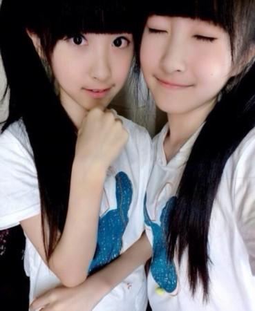 台湾/台湾人气双胞胎小美女Sandy&Mandy在7月即将迎来13岁,这对...