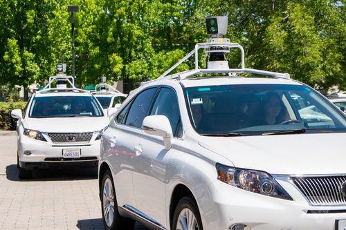 驾驶的能力.   越来越多的企业开始研发无人驾驶汽车,谷歌也高清图片