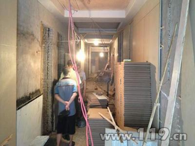 贵州六枝消防开展建筑室内装修场所消防检查