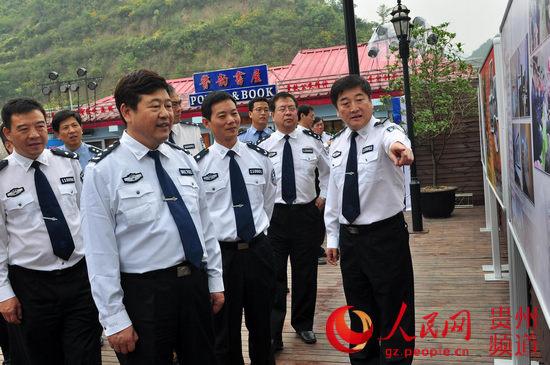 公安领导关怀 展板