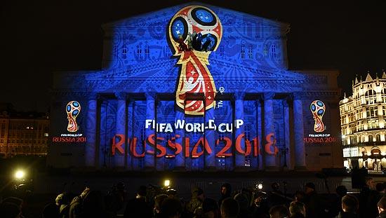2018世界杯标志揭开神秘面纱 外形似外星人(图