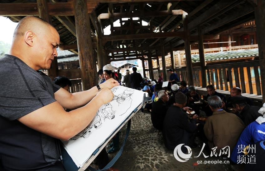 榕江大利:森林里花桥流水的心灵家园