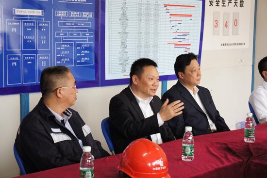 海南电网公司总经理娄山点赞 黔送铁军