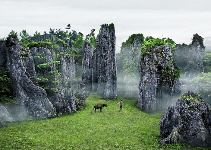 贵州石林风景区在哪