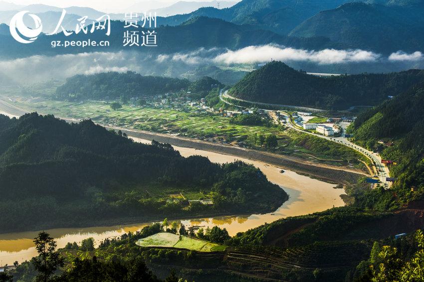 信阳赫塘村风景