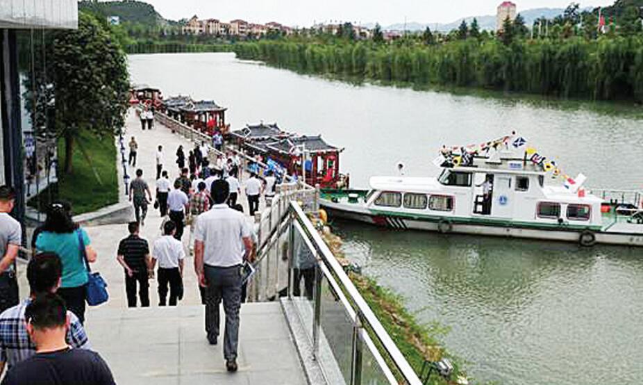 湄江旅游航道通航,系贵州省首条旅游航道(图)