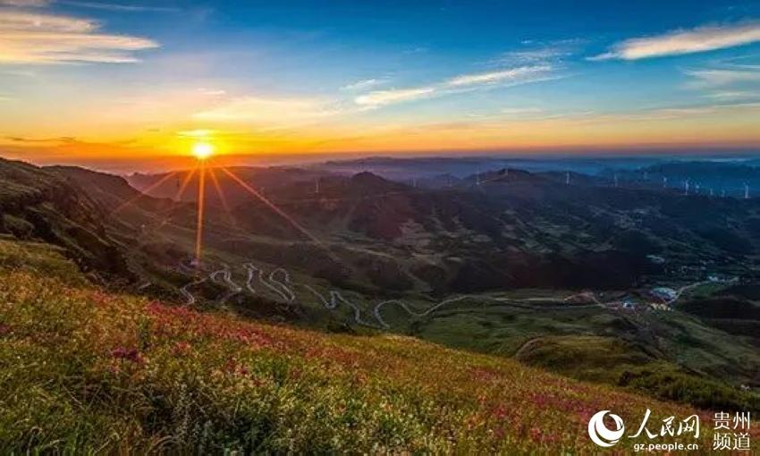 贵州频道  韭菜坪山下的明珠——兴发乡中营村 一,旅游概况   兴发乡