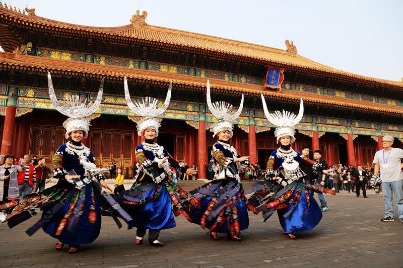 雷山苗族歌舞亮相首都北京 约你雷山过苗年