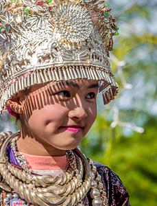 贵州从江苗侗同胞和谐共度牯藏节