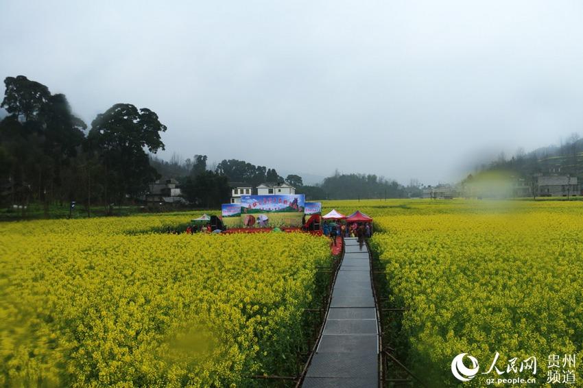 德江平原镇首届特色农旅文化节开幕