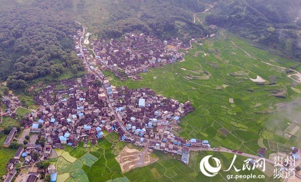 贵州频道 贵州旅游 旅游资讯    这是2017年7月1日航拍的贵州省从江县