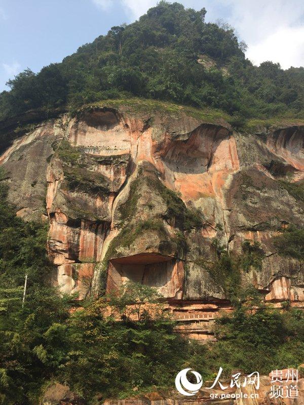 中国丹霞谷旅游风景区升级开园--贵州频道--人民网