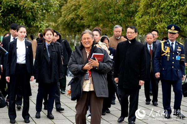 泰国公主诗琳通走访贵州