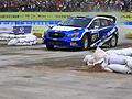 最美砂石赛道上的速度激情        5月11日,2018中国汽车拉力锦标赛在贵州开阳鸣枪开幕。近百位车手角逐