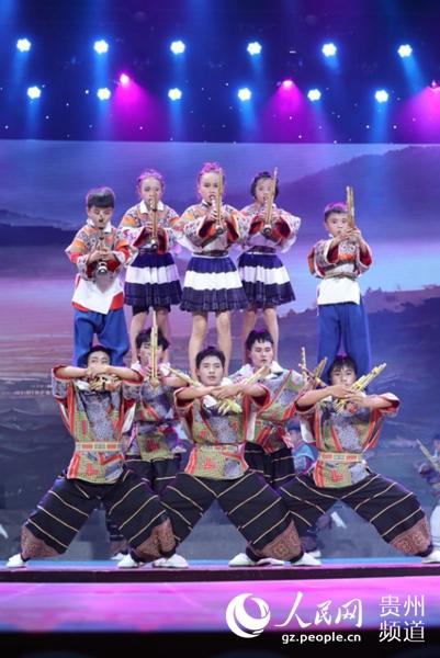 第九届中国少年儿童合唱节唱响遵义(组图)