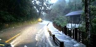 """受台风""""山竹""""影响 大小七孔景区9月18日全天关闭"""