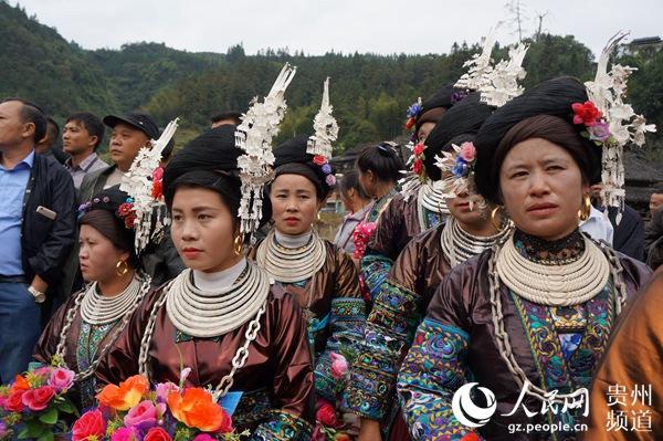 侗族群众欢度牯藏节