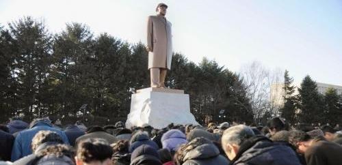朝鲜各地人民悼念金正日