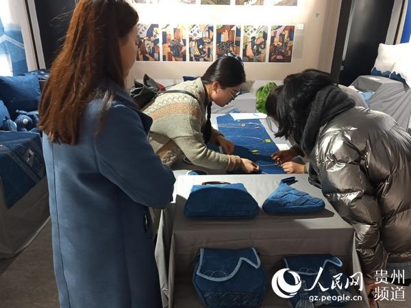 花旗贵州手工业发展项目在贵阳开展