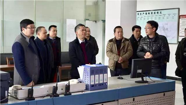 龙斌率队调研桐梓县企业复工复产及安全生产工作