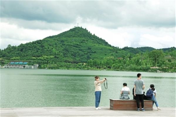 白鹭湖:休闲好去处