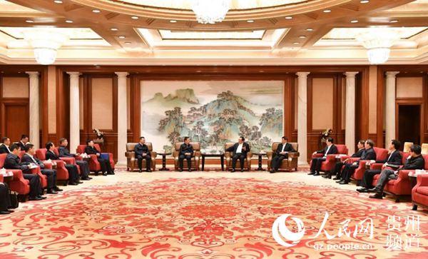 遵义市委书记魏树旺率党政代表团拜会上海市党政主要领导