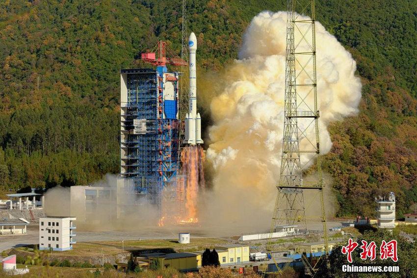 一箭双星发射成功北斗三号全球系统核心星座部署完成