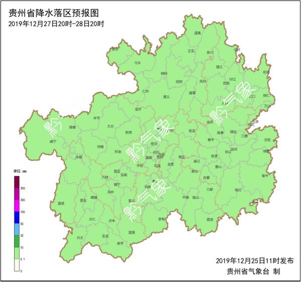 """贵州大部地区今夜气温""""暴跌""""西部北部冻雨登场"""