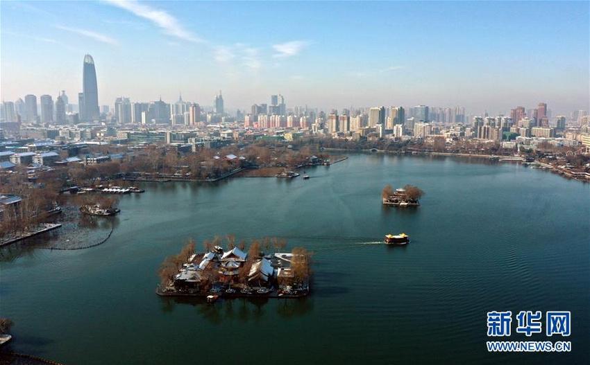 济南:雪霁初晴