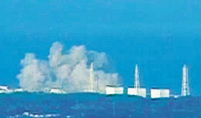 受11日大地震影响,日本福岛第一核电站发生放射性